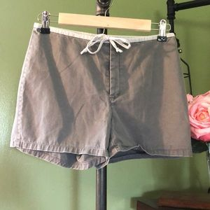 J. Crew Button & Tie Front Shorts Size 2